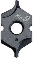 Nine9 has developed a K20F carbide grade insert
